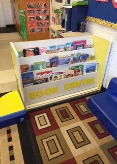Book centre for toddlers